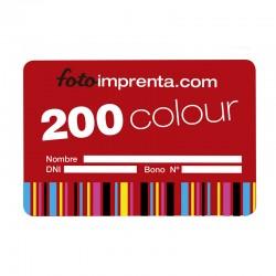 Bono color 200