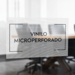 Vinilo Microperforado