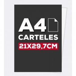 Cartel A4 130GR.